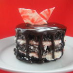 Mini Chocolate Peppermint Cakes