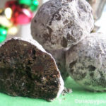 Mexican Chocolate Snowball Cookies