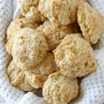 Garlic Cheddar Drop Biscuits