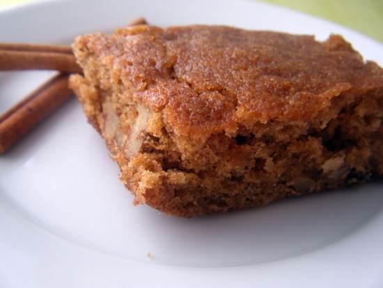 Apple-Pear Blondie Cake Bars
