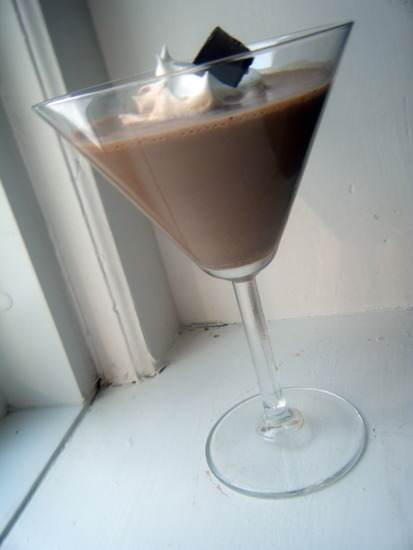Chocolate Caramel Martini Recipe   SnappyGourmet.com