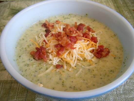 Shrimp Broccoli & Cheese Soup Recipe | SnappyGourmet.com