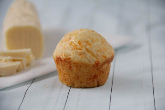 Mini Cheddar Biscuit Muffins with Vanilla Honey Butter Recipe | SnappyGourmet.com