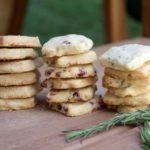 Shortbread Cookies – 3 Flavors!