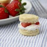 Mini Strawberry Shortcake Poppers