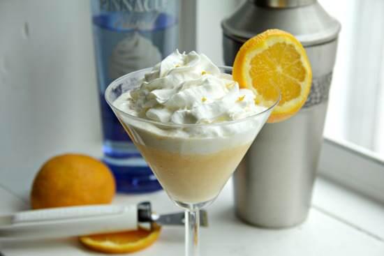 Orange Creamsicletini Cocktail Recipe   SnappyGourmet.com