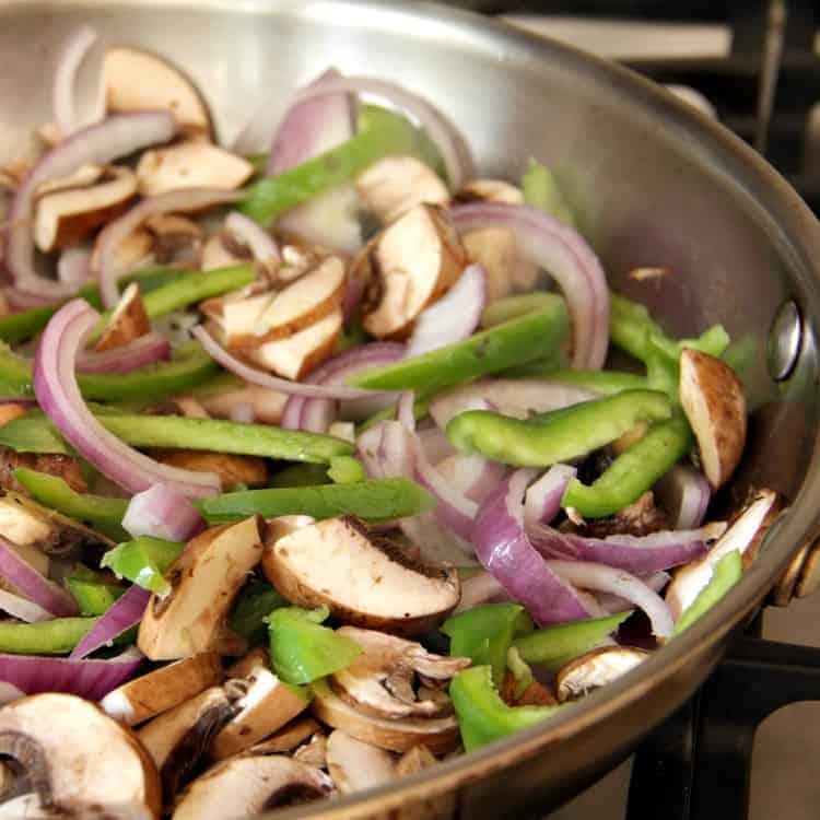Asian Peanut Spaghetti Squash Stir Fry Recipe - quick and easy chicken stir fry