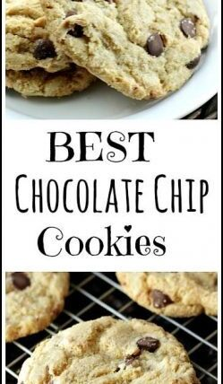 Best Chocolate Chip Cookies recipe - easy chewy on the outside and softest on the inside from scratch chocolate chip cookie! SnappyGourmet.com