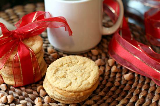 Butterscotch Sandwich Cookies Recipe | SnappyGourmet.com