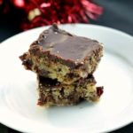 Chocolate Cherry Chunk Cookie Bars