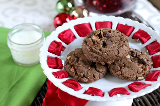 Chocolate Turtle Cookies Recipe - Snappy Gourmet
