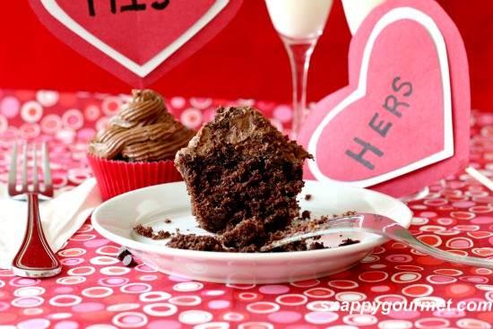 Chocolate Stout Cupcakes – Valentine's Day Dessert!
