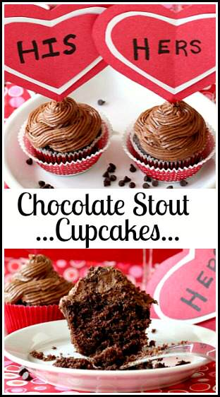 Chocolate Stout Cupcakes Recipe | SnappyGourmet.com