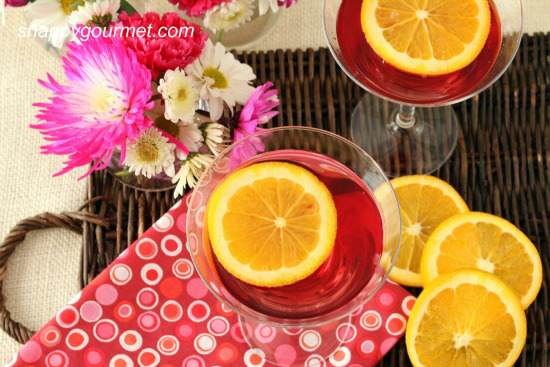 Ruby Slipper Springtini Cocktail Recipe | SnappyGourmet.com