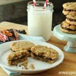 Dark Chocolate & Peanut Butter Cookie Poppers