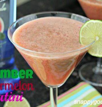 Cucumber Watermelon Spatini