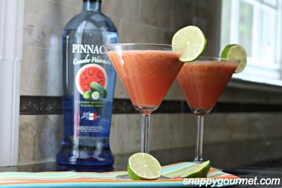 Cucumber Watermelon Spatini Cocktail Recipe | SnappyGourmet.com