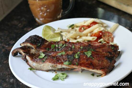 Tropical Pineapple & Honey BBQ Ribs