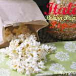 Italian Brown Paper Bag DIY Microwave Popcorn