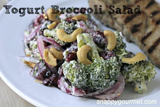 Yogurt Broccoli Salad