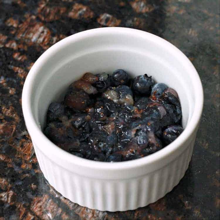 Easy Blueberry Cobbler Recipe - fresh or frozen blueberries