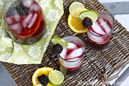 blackberry vodka sangria
