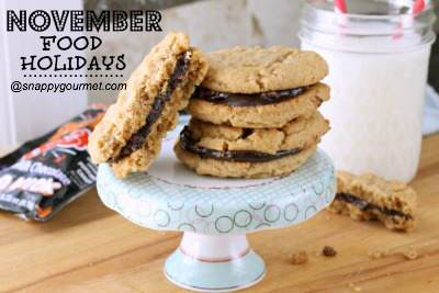 Food Holidays & Recipes (November) | SnappyGourmet.com