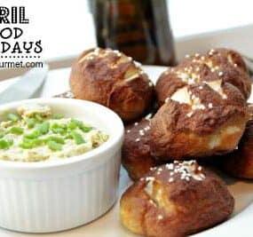 pretzel rolls - april food holidays