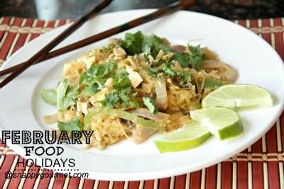 Food Holidays & Recipes (February) | SnappyGourmet.com