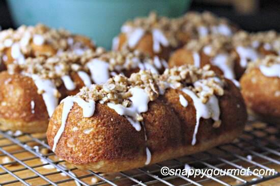 Banana Bread Doughnut Twists Recipe | SnappyGourmet.com