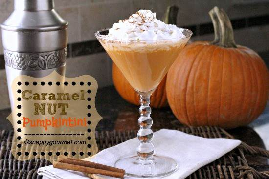 Caramel Nut Pumpkintini