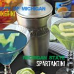 College Cocktails: Wolverinetini & Spartantini