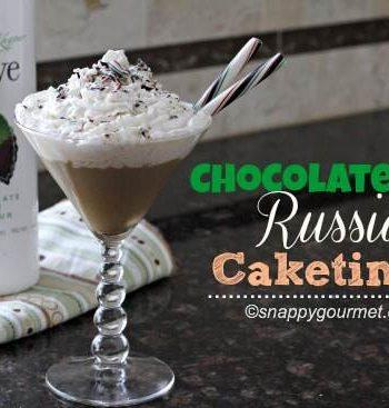 Chocolate Mint Russian Caketini