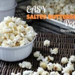 Easy Salted Butterscotch Popcorn