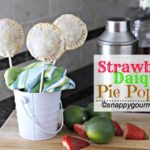 Strawberry Daiquiri Pie Pops