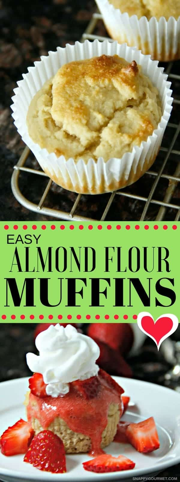 Easy Almond Flour Muffins pin