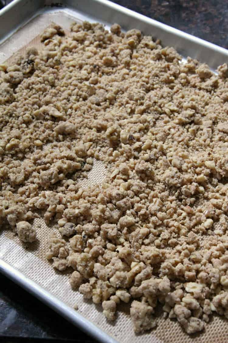 Pumpkin Crunch dessert topping