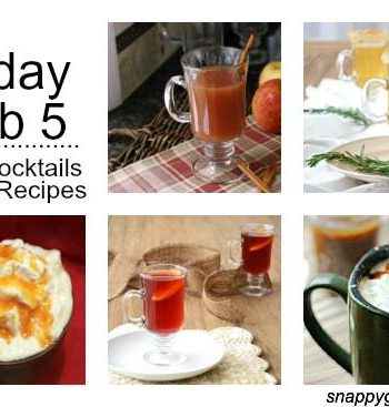 Friday Fab 5: Cider Cocktails & Drink Recipes