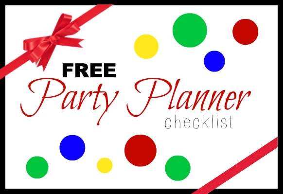 Free Party Planner Checklist