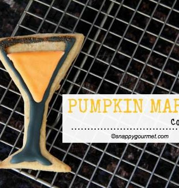 Pumpkin Martini Cookies