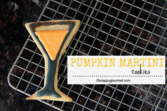 Pumpkin Martini Cookies