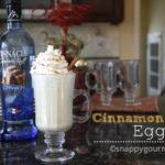 Cinnamon Roll Eggnog