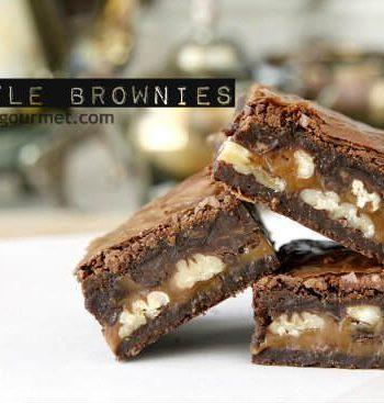Best Turtle Brownies
