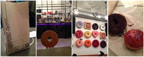 NYC Food Tour - doughnut plant   snappygourmet.com