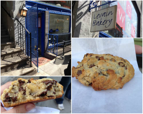 NYC Food Tour - levain bakery | snappygourmet.com