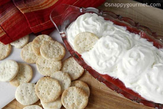 Strawberry Pie Dip   snappygourmet.com