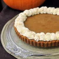 baileys irish cream pumpkin tart