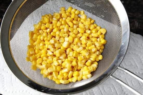 Corn and Crab Salad Tortilla Cups Appetizer Recipe (corn) | snappygourmet.com