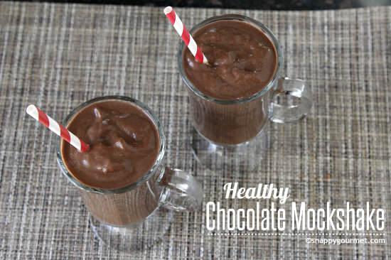 Healthy Chocolate Mockshake Recipe