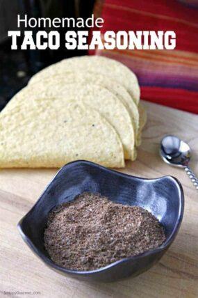 Homemade Taco Seasoning recipe - How to make homemade taco seasoning